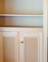 Hand-crafted Alcove Units and Cupboards
